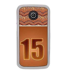 Fuson Designer Back Case Cover for Motorola Moto E2 :: Motorola Moto E Dual SIM (2nd Gen) :: Motorola Moto E 2nd Gen 3G XT1506 :: Motorola Moto E 2nd Gen 4G XT1521 (designer pattern theme rangoli art )
