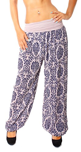 Easy Young Fashion -  Pantaloni  - cavallo basso - Donna Rosa