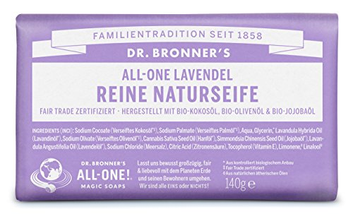 Dr. Bronners Lavendel Seife 140 g - Dr. Bronners Seife Lavendel