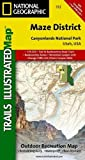Canyonlands - Maze District, UT: NATIONAL GEOGRAPHIC Trails Illustrated National Parks (National Geographic Trails Illustrated Map, Band 312)