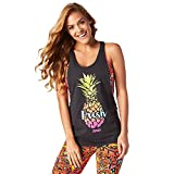 Zumba Fitness Damen Don't Get It Twisted Tank Frauentops, Back to Black, XS