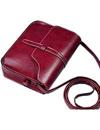 Bolsos Para mujer, RETUROM Bolso de cuero del hombro de la cruz del bolso del monedero de la vendimia de la manera