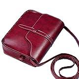 Bolsos Para mujer, RETUROM Bolso de cuero del hombro de la cruz del bolso del monedero de la...