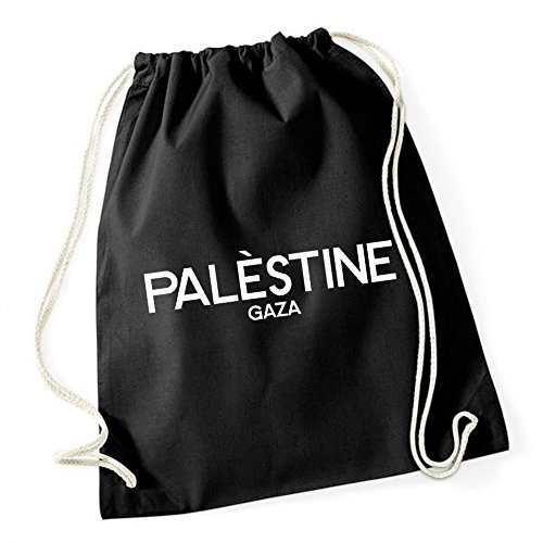 Palestinè Gaza Gymsack Black Certified Freak