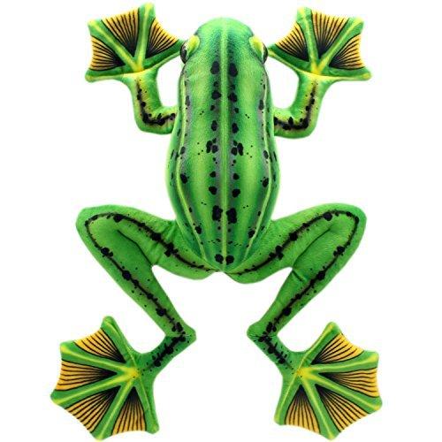 TAGLN Animali di peluche giocattoli di rana peluche verde 45 CM