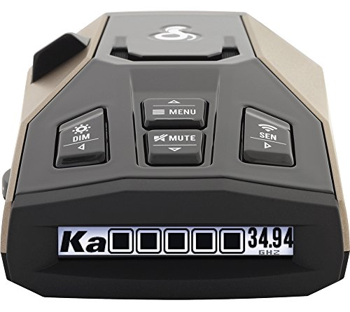 Radar Detector Cobra RAD 450 Ins...