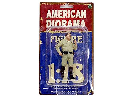 American Diorama-Policía Serie Highway Patrol Figura, 77466, (Escala 1/18