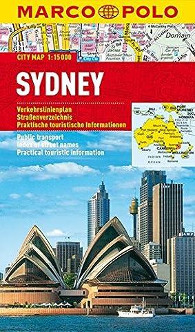 MARCO POLO Cityplan Sydney 1:15 000 (MARCO POLO Citypläne)
