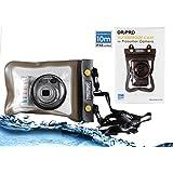 Navitech housse étui étanche pour appareil photo numérique avec lentille extérieure, compatible Canon IXUS 132 / IXUS 135 / IXUS 140 / IXUS 145 / IXUS 150 / IXUS 155 / IXUS 160 / IXUS 160 / IXUS 165 / IXUS 170