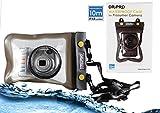 Navitech Schwarzes Wasserfestes Case / Cover / Hülle / Unterwasserkamerahülle für Samsung ES30 / ES65 / ES70 / ES75 / EX1 / EX2F