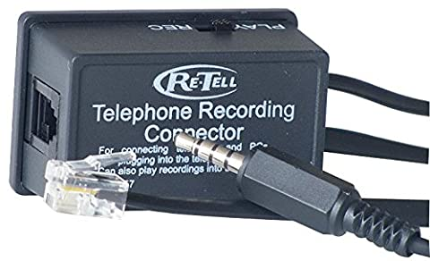 Retell 157i Telephone Handset Call Recording Connector