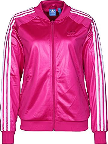 adidas Damen Superstar Originals Jacke, Blast Pink, 38