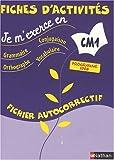 Image de Je m'exerce en grammaire, conjugaison, orthographe, vocabulaire CM1 : Fichier autocorrectif, Programme 2008