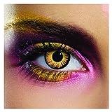 LENTI A CONTATTO GIORNALIERE colorate BELLA occhi arancioni eyecasions