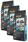Belcando Hunde Trockenfutter - Junior Maxi mit Geflügel und Reis 3X 1kg Hundefutter für Junge Hunde - leichtverdaulich und Premiumqualität