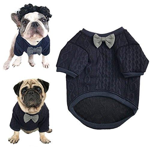 Meioro Maglione per Cani Papillon Vestiti per Animali Vestiti per Cani Vestiti  per Animali Domestici Vestiti per Gatti Vestiti per Cani Cucciolo Bulldog  ... 986d7138998