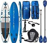 Brunelli 10.8 Premium Sup Board Stand up Paddle Surf-Board aufblasbar Paddel ISUP 325cm
