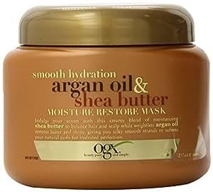 ORG Smooth Hydration Argan Oil & Shea Butter Moisture Restore Mask 237 ml