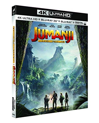 Jumanji : Bienvenue dans la jungle [4K Ultra HD + Blu-ray 3D + Blu-ray + Digital UltraViolet]