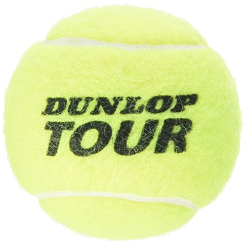 Dunlop Tennisbälle Tour Performance 4er, Gelb, One Size, 602199