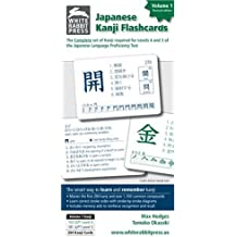 Japanese Kanji Flashcards: v. 1: Provides Complete Preparation for Levels 4 and 3 of the Japanese Language Proficiency Test v. 1