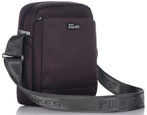 Binlion TAIKES Men's Shoulder Travel Messager Bag Crossbody Ipad Bag Daypack Blue-4