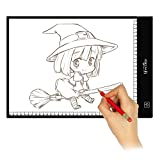 Lifecolor A4 Portátil LED Artcraft Caja de Luz, 4 mm Ultra-delgada de Rayos X de Seguimiento de Seguimiento Tablero de Copiado con USB Plug Para Artistas,Dibujo,Bocetos,Animación