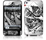 GelaSkins Royal Flush Protective Skin for iPod Touch 4th Generation
