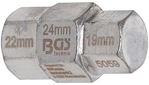 Bgs pour moto spécial utilisation, 19–22–24mm, 1pièce, 5059