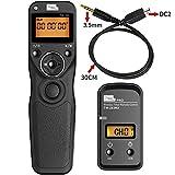 PIXEL TW-283/DC2 LCD Control Remoto Disparador Inalámbrico para Nikon Cámaras Digitales D3100, D3200, D3300, D5000, D5100, D5200, D5300, D5500, D90, D7000, D7100, D7200, D600, D610, D750, Df, Nikon 1 V3. Coolpix: P7700, P7800, Coolpix A