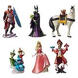 Disney Official Store Sleeping Beauty 60th Anniversary Figurine 6 Figure Playset