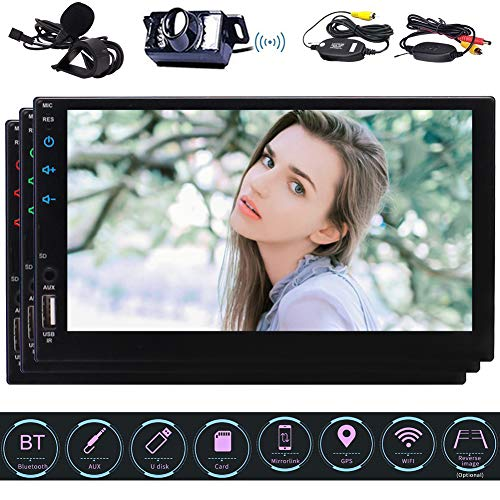 Kostenloses W-Rückfahrkamera inklusive! Android 6.0 7-Zoll-HD kapazitiver Multi-Touch-Screen-Double 2 L?rm-Auto-Stereo-GPS-Navigationssystem Autoradio Audio-Video-Player in der Schlag-Head Unit Autor