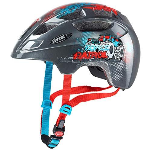 Uvex Finale Junior Kinder Fahrrad Helm Gr. 51-55cm grau 2019