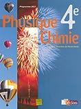 Physique Chimie 4e : Programme 2007