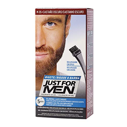 JUST FOR MEN Colorante gel bigote barba