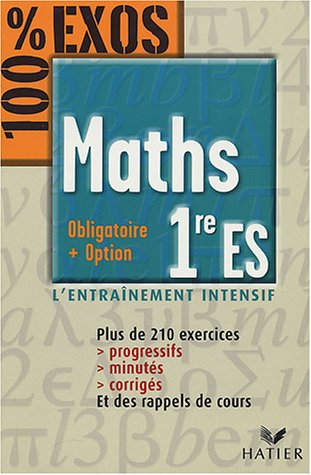 Maths : 1er ES