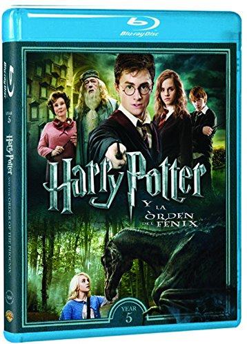 Harry Potter Y La Orden Del Fénix - Nueva Carátula [Blu-ray]