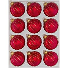 Einzelne Christbaumkugeln.Suchergebnis Auf Amazon De Fur Weihnachtskugeln Glas Rot