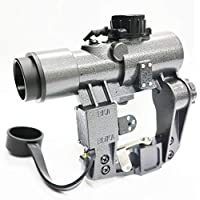 amazon co uk airsoft sights P90 Assault Rifle Carbine airsoft army force svd 1x30 red dot sight for a k ares cyma we