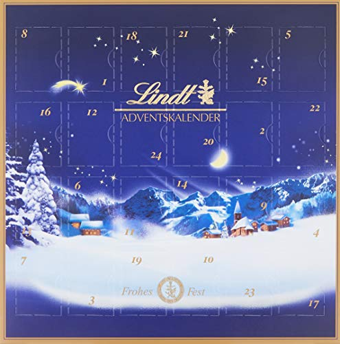 Lindt & Sprüngli Mini Tisch Adventskalender