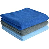 SINLAND Multi-purpose Microfibre Fast Drying Travel Gym Towels 3-pack