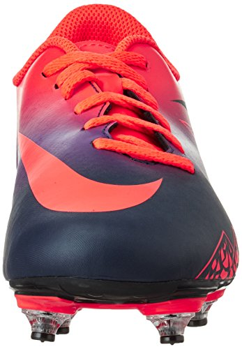 Nike 768907-845, Scarpe da Calcio Unisex – Adulto Multicolore (Total Crimson/obsidian-vivid Purple)