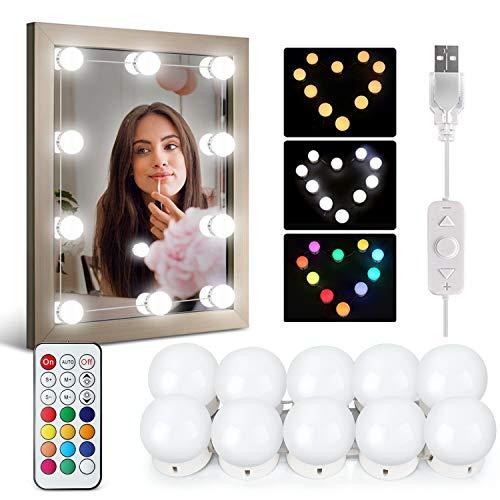 Luces Cosméticas espejo DIY Lamparas Maquillaje