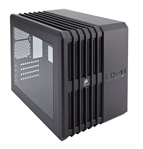 Corsair Carbide Air 240 - Caja de PC (Micro-ATX, ventana lateral, High Airflow) negro