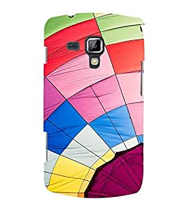 Vizagbeats Multi Color Web Back Case Cover for Samsung Galaxy S Duos 7562 SDuos756200F