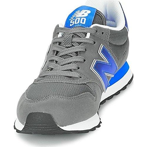 New Balance - Gm500, Baskets Gris / Bleu Pour Homme