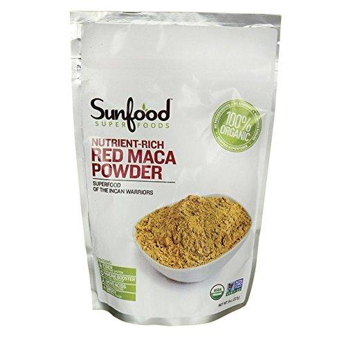 Nutrient-Rich Red Maca Powder 8 oz