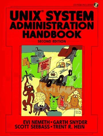 UNIX System Administration Handbook (Bk\CD ROM)