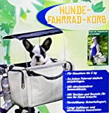 HUNDE-FAHRRADKORB 38x28cm Beige bis 6kg Fahrradtasche Tragetasche Hund Katze 78