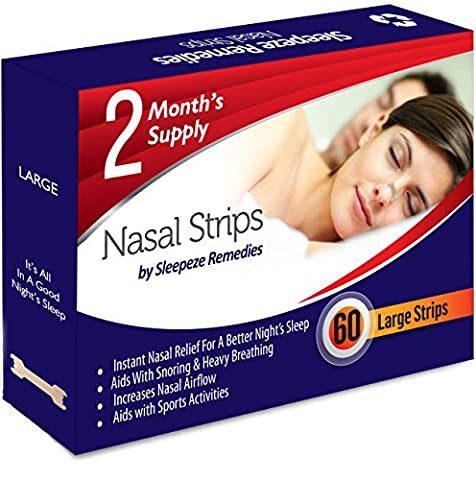 Nasal Strips Large (60 Strips/£0.23 each) by